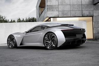 Le concept Peugeot Felidae GT