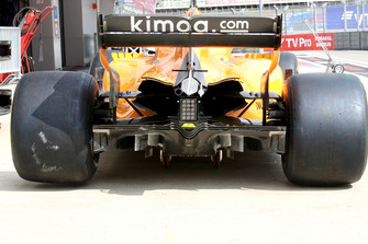 McLaren MCL33 diffuser