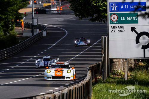 Teste para 24 Horas de Le Mans