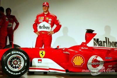 Lanzamiento del Ferrari F2004