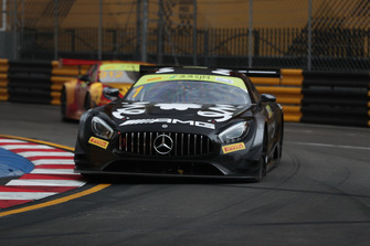 #1 Mercedes-AMG Team GruppeM Racing Mercedes - AMG GT3: Edoardo Mortara