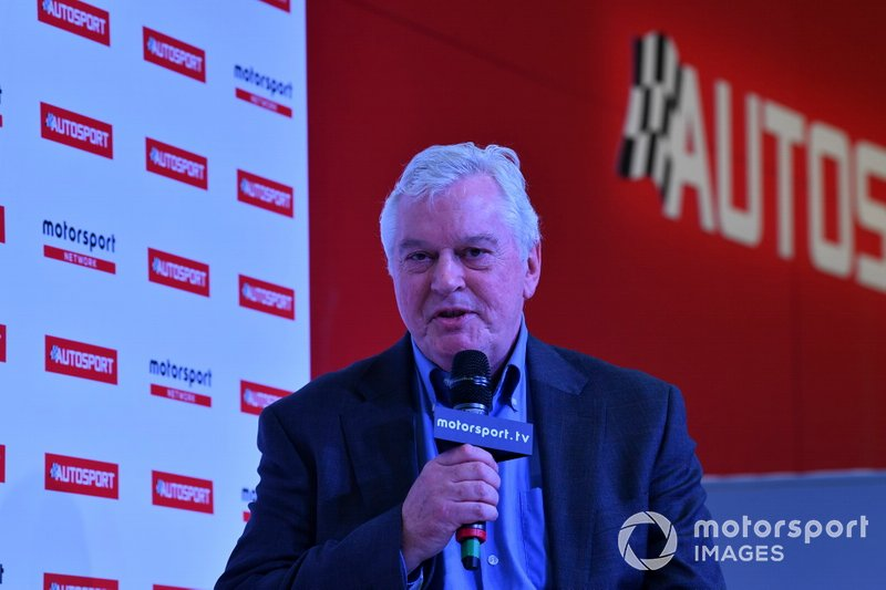 Pat Symonds talks to Stuart Codling on the Autosport Stage
