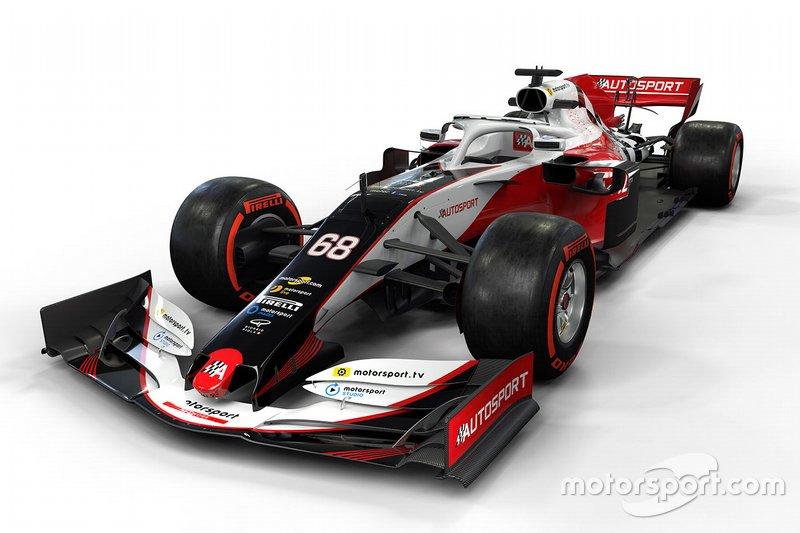 Contoh mobil F1 2019