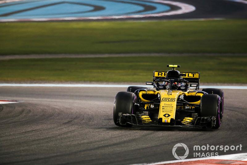 Sainz eindigt als 'best of the rest' in zijn laatste race voor Renault