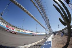 Erik Jones, Furniture Row Racing, Toyota; Denny Hamlin, Joe Gibbs Racing, Toyota