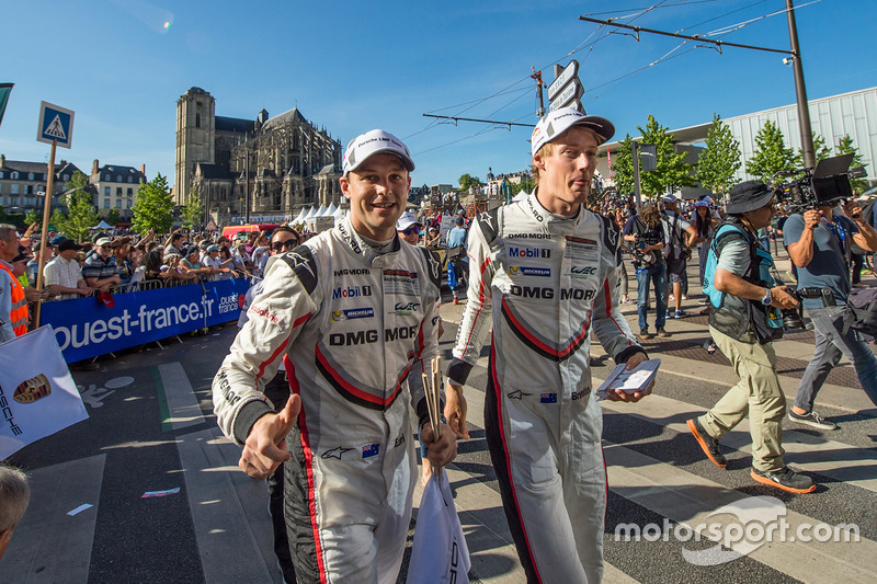 Earl Bamber, Brendon Hartley, Porsche Team