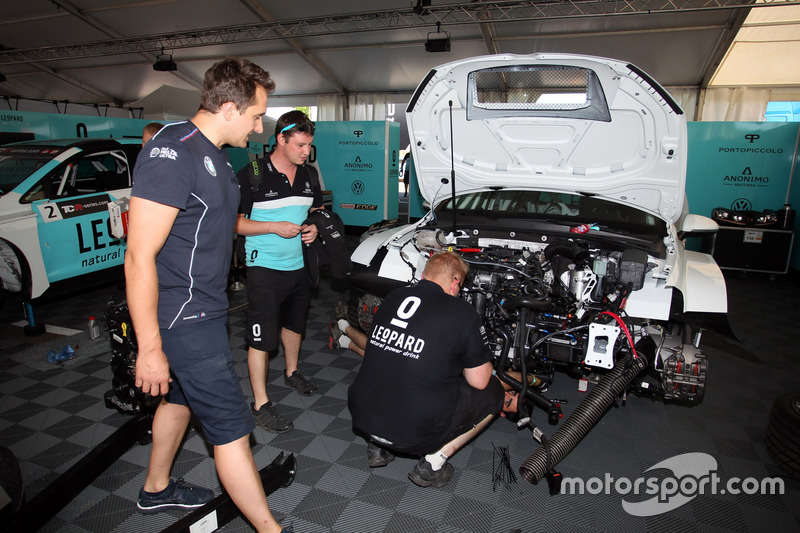 The car of Rob Huff, Leopard Racing Team WRT, Volkswagen Golf GTi TCR