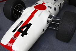 Historic Honda RA300 on display
