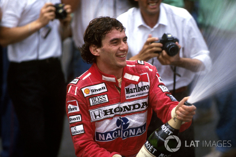 Сенна стал первым гонщиком в сезоне-1990, победившим в двух гонках