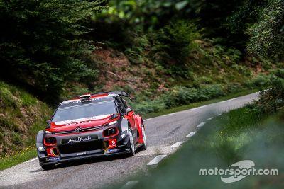Sebastien Loeb testet WRC: Asphalt