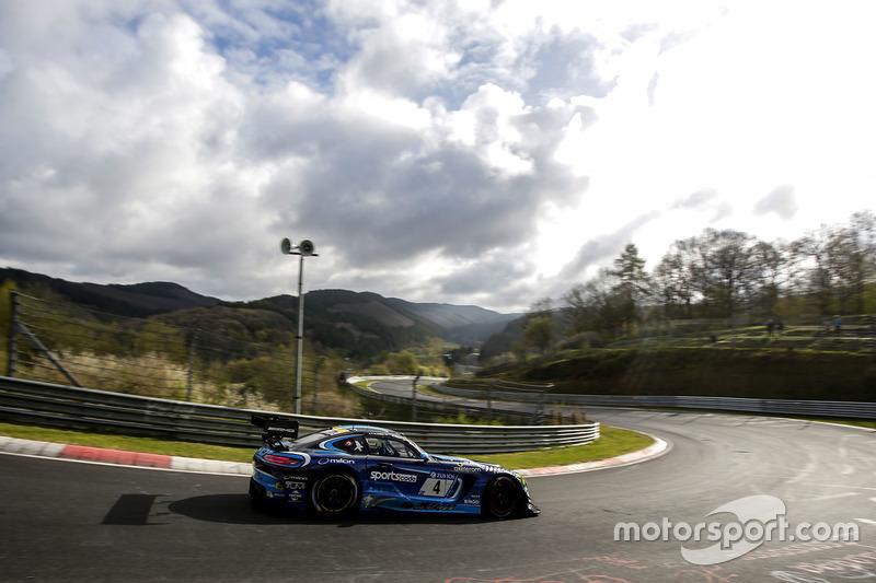 #4 Black Falcon, Mercedes-AMG GT3