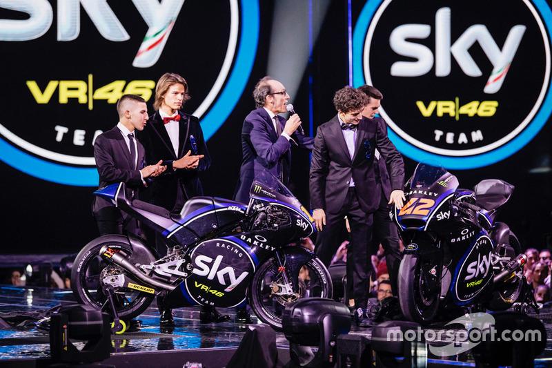 Lanzamiento Sky Racing Team VR46