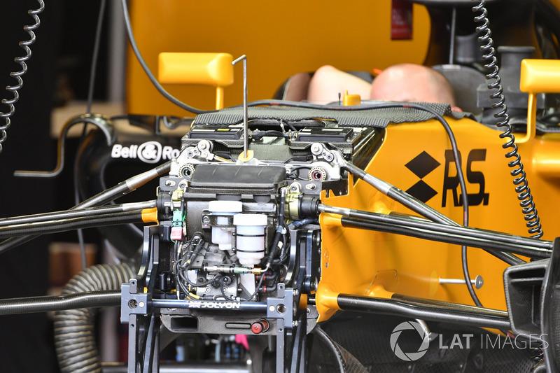 Передняя подвеска Renault RS17