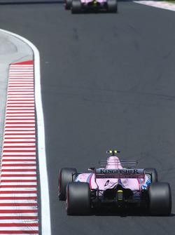 Серхіо Перес, Sahara Force India F1 VJM10, Естебан Окон, Sahara Force India F1 VJM10