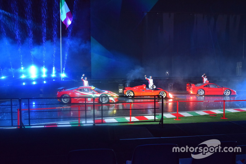 Le Ferrari -  головний герой чемпіонатів GT
