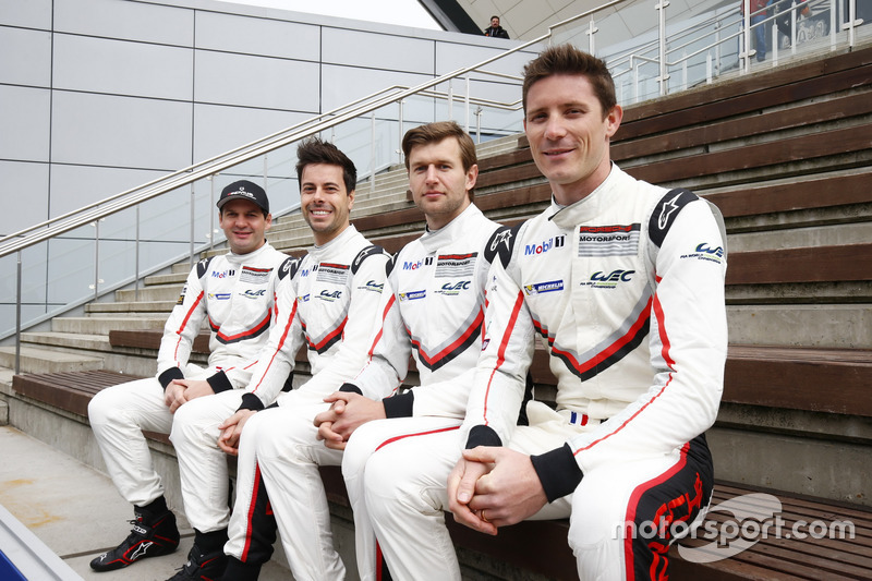 #91 Porsche Team Porsche 911 RSR: Richard Lietz, Frédéric Makowiecki, #92 Porsche Team Porsche 911 R