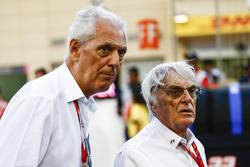 Президент и исполнительный директор Pirelli Марко Тронкетти Провера и почетный председатель FOM Берни Экклстоун