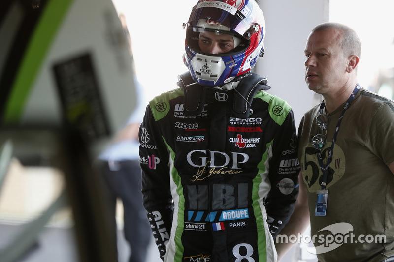 Aurelien Panis, Honda Team Zengo, Honday Civic WTCC, mit Vater Olivier Panis