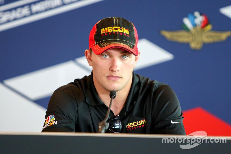 #24: Sage Karam, Dreyer & Reinbold Racing, Chevrolet