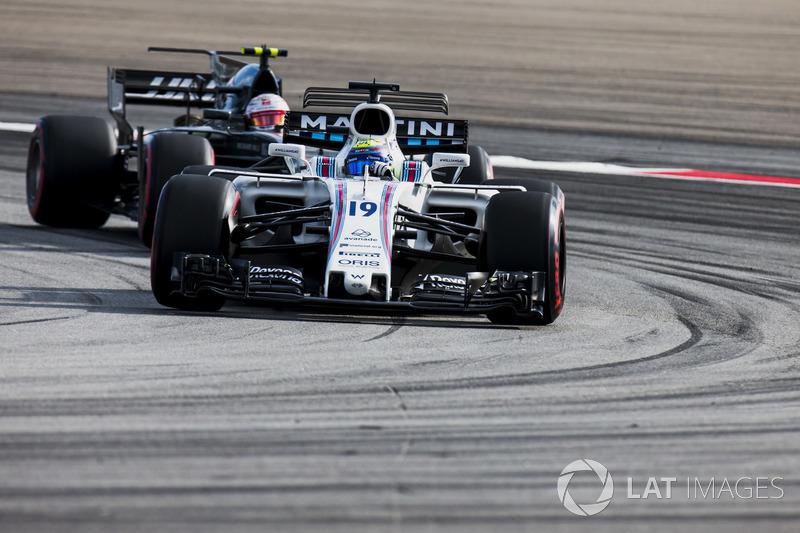 Феліпе Масса, Williams FW40, Кевін Магнуссен, Haas F1 Team VF-17