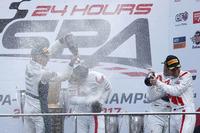 1. #25 Audi Sport Team Sainteloc Racing Audi R8 LMS: Markus Winkelhock, Christopher Haase, Jules Gounon