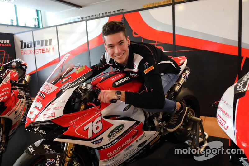 Samuele Cavalieri, Barni Racing Team