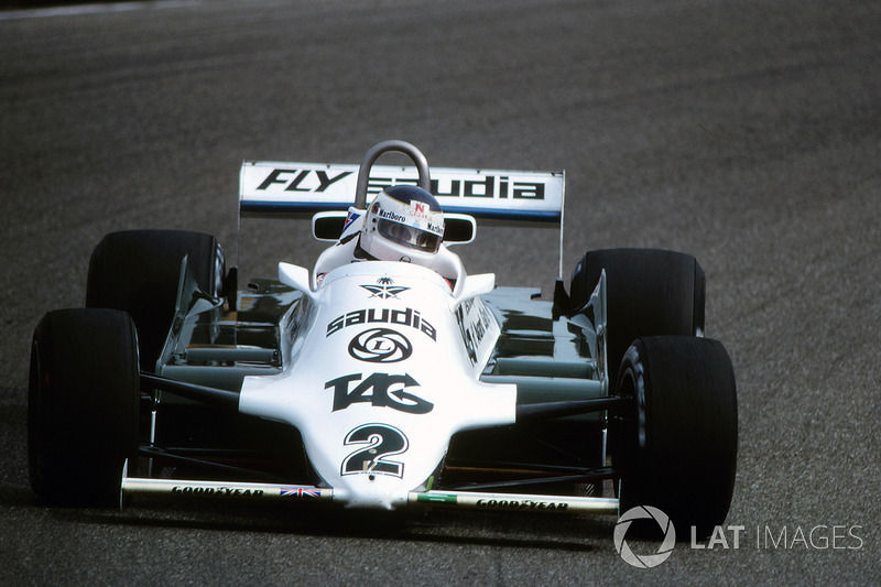 1981: Williams FW07C Ford (4 победы, 1-е место в КК)
