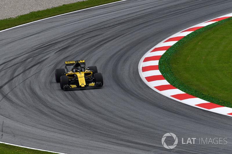 15. Nico Hulkenberg, Renault Sport F1 Team R.S. 18