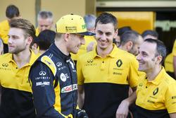 Nico Hulkenberg, Renault Sport F1 Team, et l'équipe