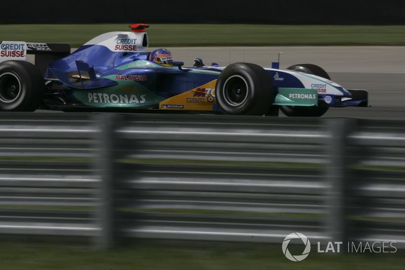 2005: Sauber C24 - Petronas (Ferrari)