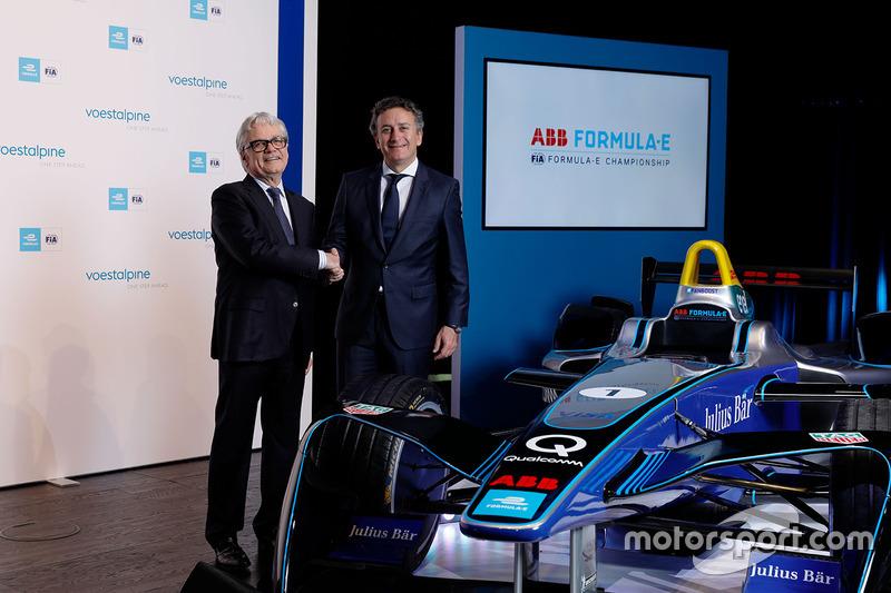 voestalpine Formula E announcement