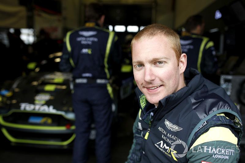 #007 Aston Martin Racing Aston Martin Vantage GT3: Maxime Martin