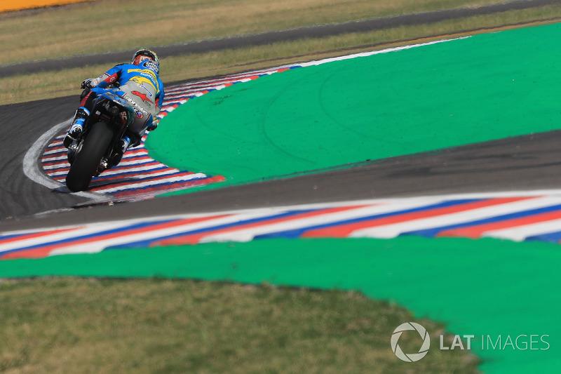MotoGP Fotostrecke: Thomas Lüthi im Großen Preis von Argentinien
