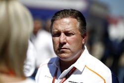 Zak Brown, McLaren Racing CEO