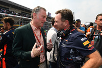 Sean Bratches ve Christian Horner, Red Bull Racing