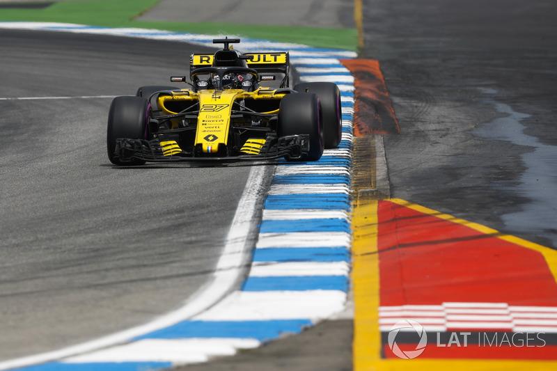 Nico Hulkenberg - Renault: 9