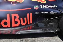 Red Bull Racing RB14 detalle del piso trasero