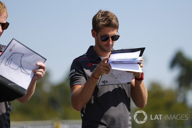 Romain Grosjean, Haas F1 Team, recorre la pista