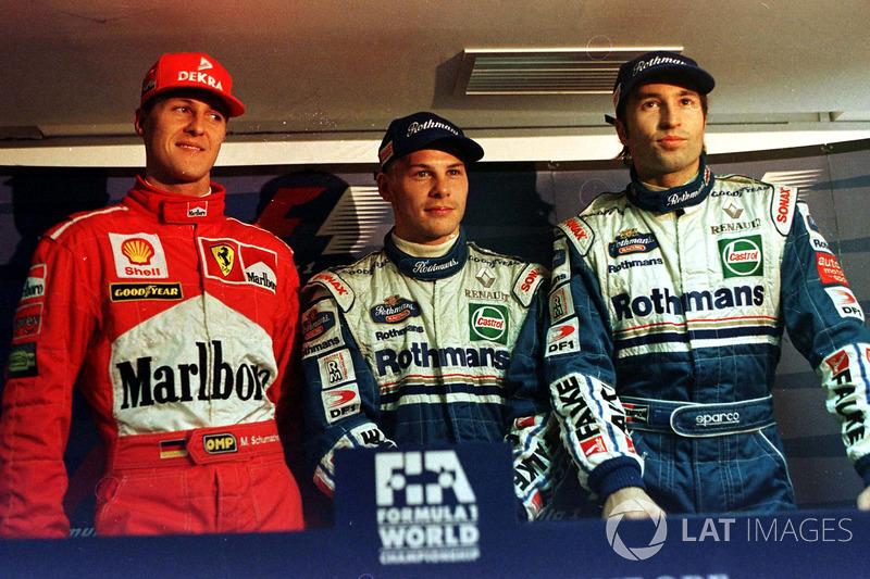 Qualifs : Villeneuve, Schumacher et Frentzen signent un chrono identique!