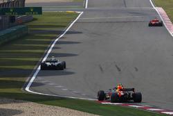 Sebastian Vettel, Ferrari SF71H, Valtteri Bottas, Mercedes AMG F1 W09, and Max Verstappen, Red Bull Racing RB14 Tag Heuer