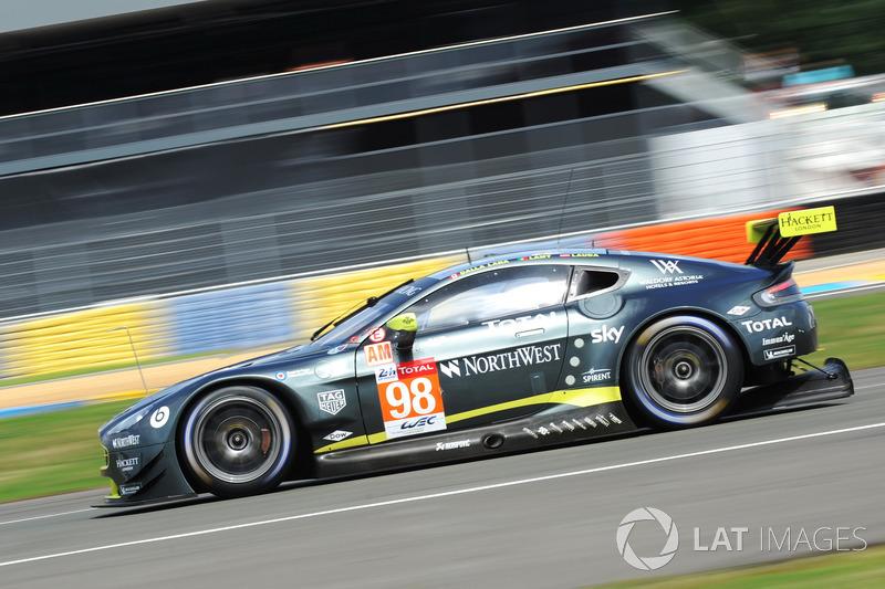 57: #98 Aston Martin Racing Aston Martin Vantage: Paul Dalla Lana, Pedro Lamy, Mathias Lauda, 3'53.817