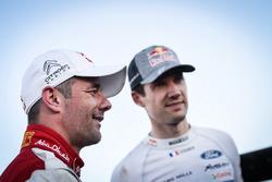 Себастьен Лёб, Citroën World Rally Team, и Себастьен Ожье, M-Sport