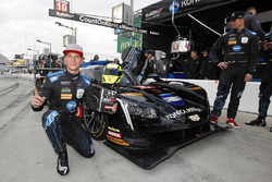 Overall pole winner #10 Wayne Taylor Racing Cadillac DPi, P: Renger van der Zande