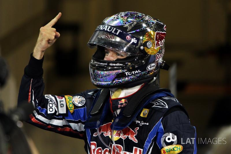 Sebastian Vettel, Red Bull Racing, vainqueur et Champion du monde