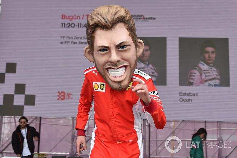 Кукла Себастьяна Феттеля, Ferrari