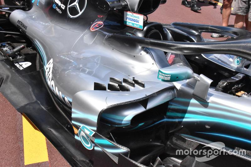 Mercedes-AMG F1 W09 sidepods