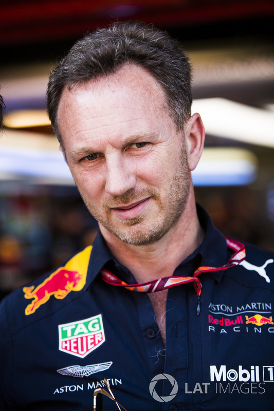 Christian Horner, director del equipo, Red Bull Racing