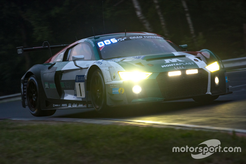 Кристофер Мис, Кельвин ван дер Линде, Шелдон ван дер Линде, Рене Раст, Audi Sport Team Land, Audi R8 LMS GT3 (№1)
