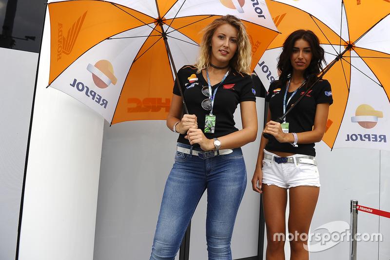 Grid Girls MotoGP - GP de San Marino