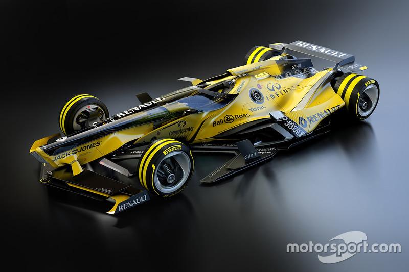 Renault F1 Team 2030 fantezi tasarım